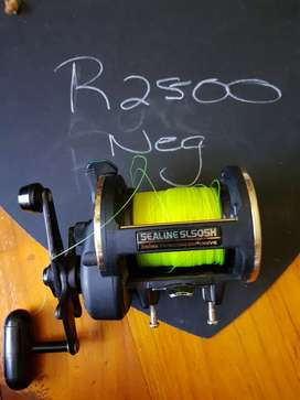 Saltwater jigs and reel for sale