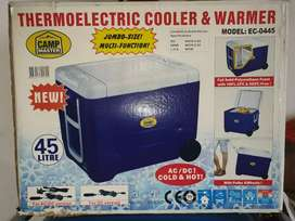 Campmaster Electric Cooler & Warmer cooler box.