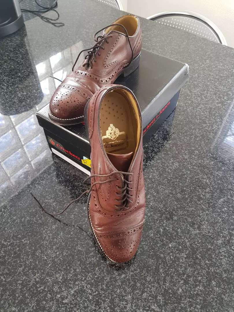 Original  Crockett and Jones leather shoes 0