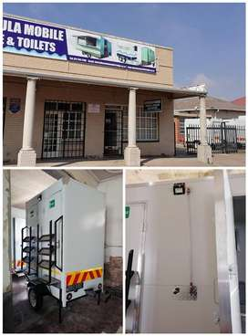 Mobile VIP Toilets and Mobile Fridge for sale.