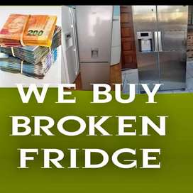 We buy working and non working fridges