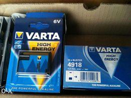 Батарейки Varta 4LR61 6V