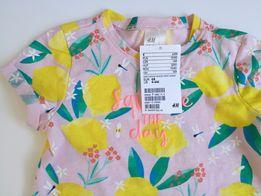 HM T-shirt dziewczęcy r 68 NOWY