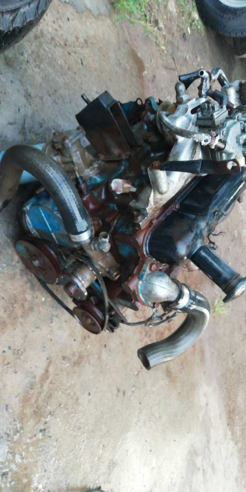 Ford sierra 1600 with 1600 kent engine and gearbox 0