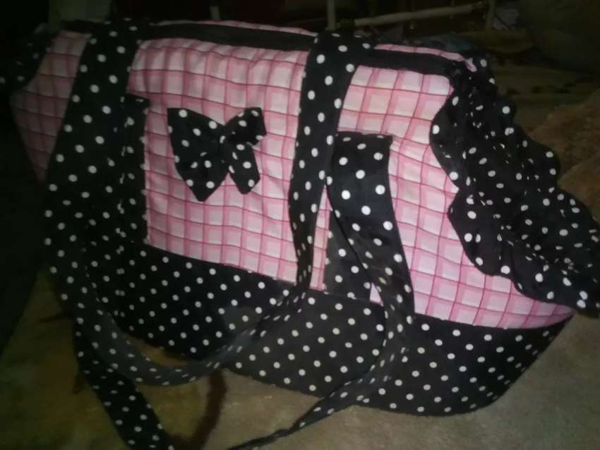 Cute Pink Puppy bag 0