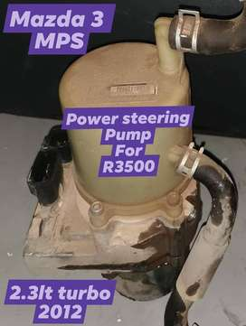 Mazda 3 MPS 2.3lt turbo 2012 power steering pump for R3500