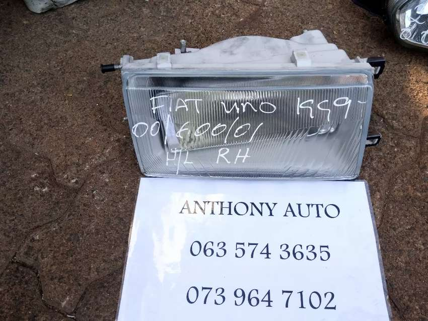 Fiat uno right head lamp 0