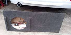 10 inch bakkie sub woofer box. Price is negotiable