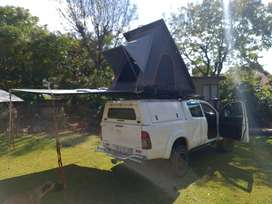 Rooftop tent and awning, flexible solar panel60000