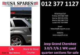 Jeep Grand Cherokee 3.0/5.7 WK 2006-10 used quarter sections for sale