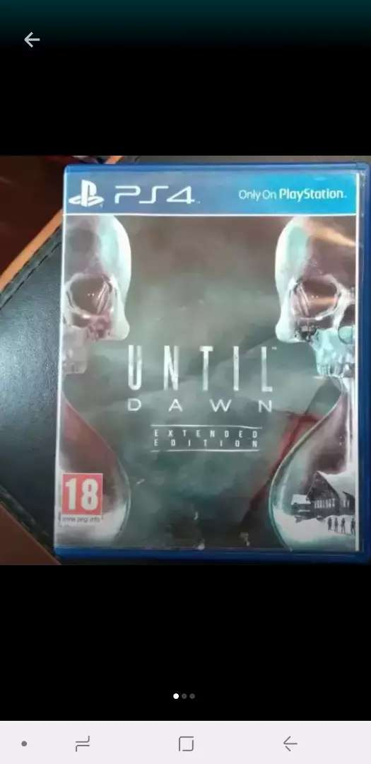 Ps4 Until Dawn. For sale or swap 0