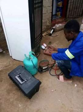 Fridge repair and gas refilling on-site call or whatsApp I'm available