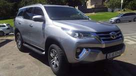 2018 Model Toyota Fortuner  2.7 VVTi  GD 6  Automatic