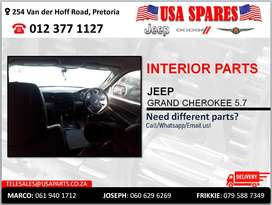 JEEP GRAND CHEROKEE 5.7 NEW & USED INTERIOR SPARES/PARTS