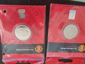 Manchester United Collectors Medal!
