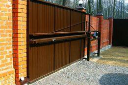 Гаражные ворота Ворота раздвижные, откатные, секционные калитки забор