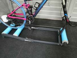 Tacx Antares Rollers, support beam and training Tyre