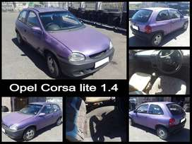 Opel Corsa lite 1.4 stripping for spares