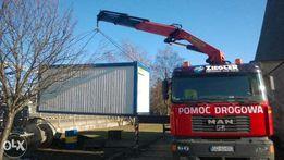 transport hds dźwig kontenerów kontenera domki melaminy budy tokarki