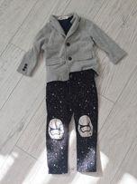 Пиджак и джинсы H&M