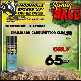 Spanjaard Carburettor Cleaner ONLY R65 at Modimolle Spares!