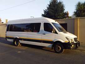 2015 Mercedes Sprinter 515 CDi LWB 23 Seater Bus Original Maintained