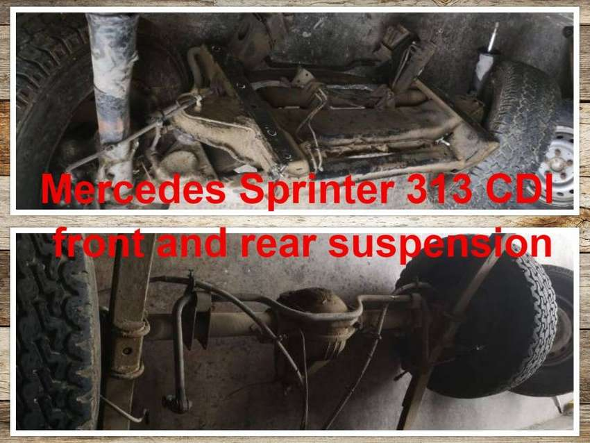 Mercedes Sprinter 313 CDI front and rear suspension for sale. 0