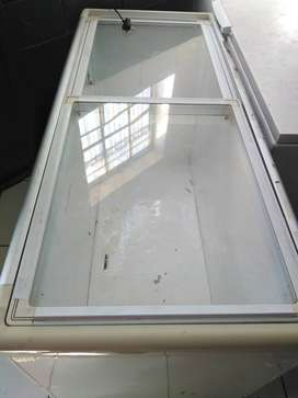 Glass display freezer for sale