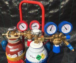 Zestaw do spawania tlen acetylen palnik do spawania GCE butla reduktor
