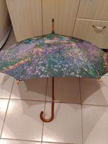 Зонт - трость полуавтомат реплика картины Моне и ван Гога