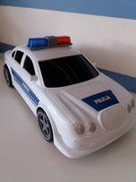 Duże auto policja - światła, dźwięk