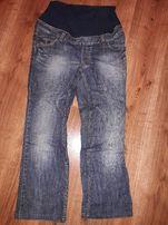 spodnie ciążowe H&M, 40 zł z wysyłką, rozmiar M, jeans