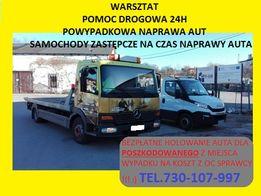 Pomoc Drogowa & WARSZTAT * Skup Aut * Holowanie z OC Sprawcy - Laweta