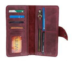 Кожаный женский кошелек портмоне ручной работы фирмы Sullivan