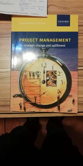 Project Management for strategic Change and Upliftment