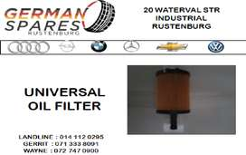 NEW UNIVERSAL OIL FILTER FOR SALE