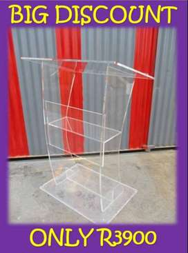 Transparent H Shaped Stand