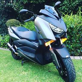Yamaha X Max 300 scooter. Aftermarket pipe imported screen and DNA air