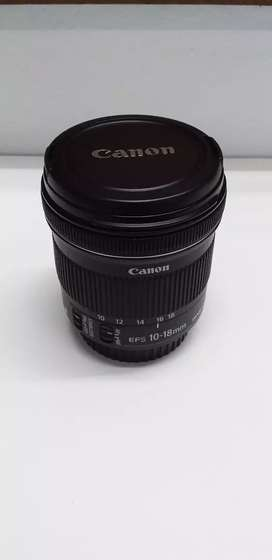Canon 10-18mm Stm wide angle lens