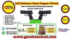 G&S TACTICAL- Non-lethal self defence weapons