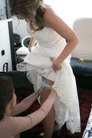 Sprzedam suknię ślubną w kształcie litery A Elżbiety Dominiak