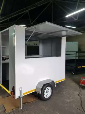 QTEC Trilers Mobile Kitchens/Fast Food Trailers