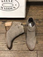Женские ботинки Steve Madden, кожа, 37,5 р.