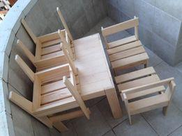 Стіл дитячий Стол детский столик стільчик стул комплект дерево крісло