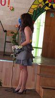 Шелковое выпускное платье Karen Millen