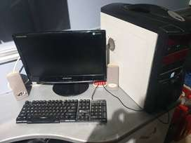 Pc for sale with monitor in good condition