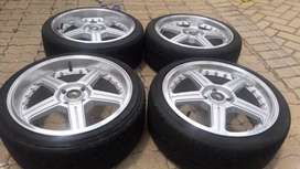17 inch mags and tyres 4500