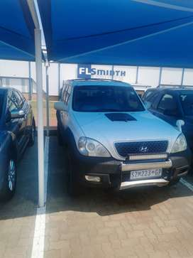 Hyundai Terrecan 4x4 with Lexus V8 conversion