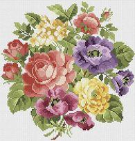 Алмазная вышивка Белоснежка «Вальс цветов»062-ST-S