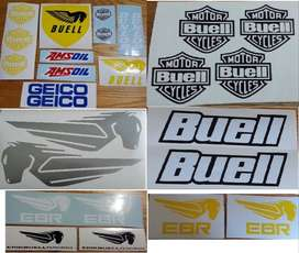 Buell decals / vinyl cut stickers